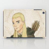 legolas iPad Cases featuring Legolas by Joan Pons
