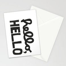 HELLO, HELLO  Stationery Cards