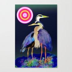 heron 2 Canvas Print