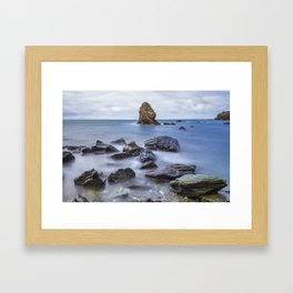 Gwenfaens Pillar Framed Art Print