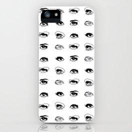 Twiggy Glance iPhone Case