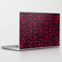 crystals Laptop & iPad Skins featuring Crystals  by Claudia Owen