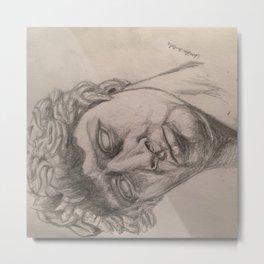 Roman head guy Metal Print