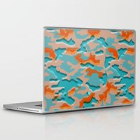 military Laptop & iPad Skins featuring Autumn military by Pimpa Gerroc
