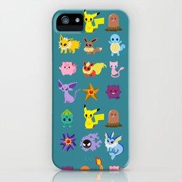 P O K E M O N iPhone Case