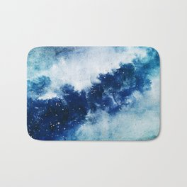 ROYAL BLUE GALAXY Bath Mat
