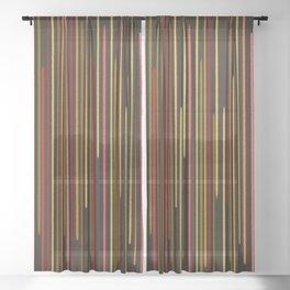 abstract 05 Sheer Curtain
