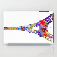 eiffel tower iPad Cases featuring Eiffel Tower  by ron ashkenazi