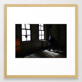 Leaning Tower of Norfolk - Chair Framed Art Print