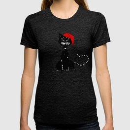 Evil Christmas Cat T-shirt