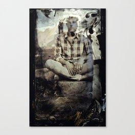 Portrait Tintype Canvas Print