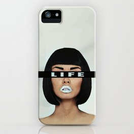 Life is Life iPhone Case