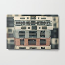 Music Collection 14 Metal Print