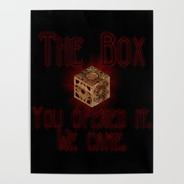 Hellraiser The Box You Opened It Poster