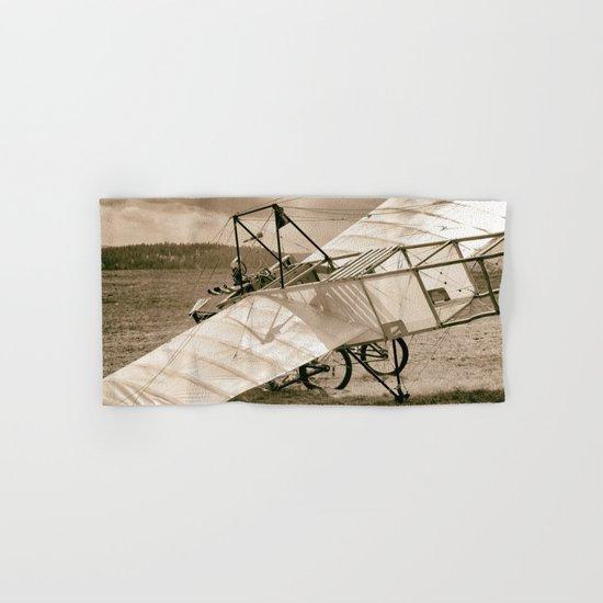 Old Airplane Hand & Bath Towel