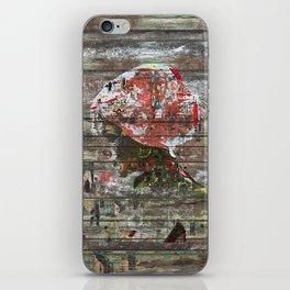 Hidden Nature (Profile of Woman) iPhone Skin