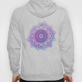 big beauty mandala in pale blues Hoody