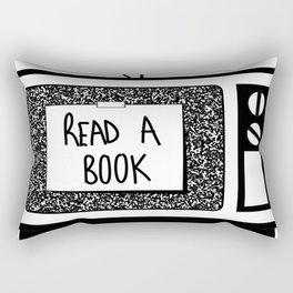 READ A BOOK Rectangular Pillow