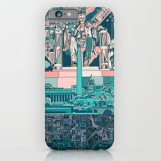 washington dc city skyline Slim Case iPhone 6s