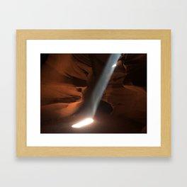 Antelope Canyon 3 Framed Art Print