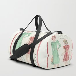 Retro Chic Duffle Bag