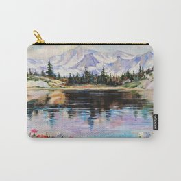 Landscape above the river Carry-All Pouch