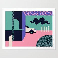 Creepster Art Print