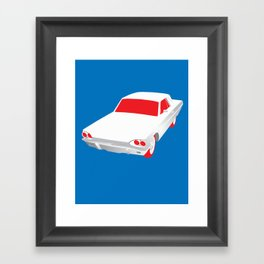 Retro Car Framed Art Print