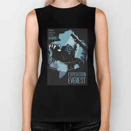 Expedition Everest Attraction Poster Biker Tank