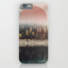 The Calmest of Woods iPhone Case