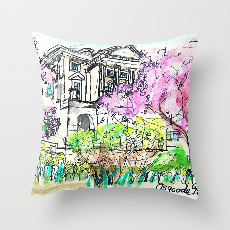 Osgoode Hall Toronto Throw Pillow By Weforgotlilacs Society6