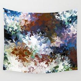 fiery marble 007 Wall Tapestry