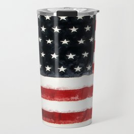 USA Flag ~ American Flag ~ Ginkelmier Inspired Travel Mug