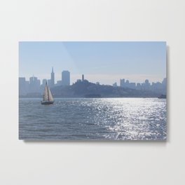50 Shades of Blue Metal Print