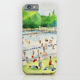 Deep Eddy Pool - Austin, Texas iPhone Case