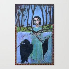 Pick Up Sticks Canvas Print
