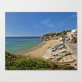 Olhos d'Agua village, Portugal Canvas Print