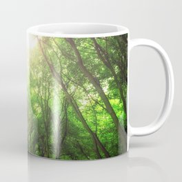 Endless Green Forest of Dreams Coffee Mug