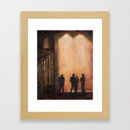 Provo at Night Framed Art Print