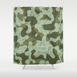 NOISE IV - (Noise Pattern Series) Shower Curtain