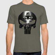 The Punisher Lieutenant X-LARGE Mens Fitted Tee