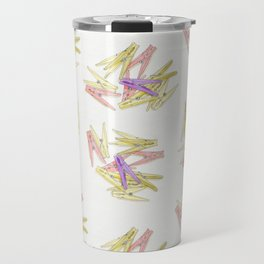 Сlothespins Travel Mug