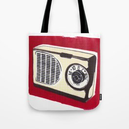Radio I Tote Bag