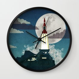 Tracy Island Wall Clock