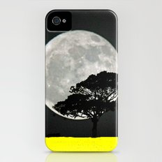 Lone Tree And Moon. Slim Case iPhone (4, 4s)