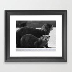 Total Cuteness Framed Art Print