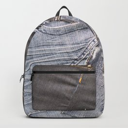 jeans denim as background Backpack