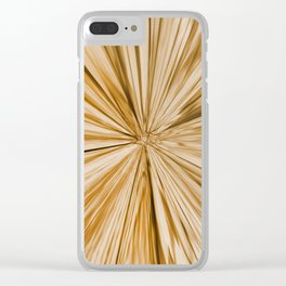 439 - Abstract water design Clear iPhone Case