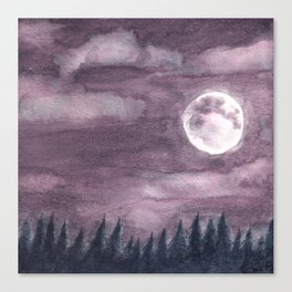 Moonglow Canvas Print
