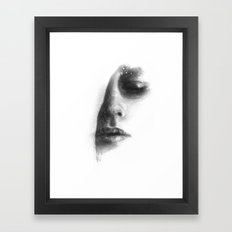 Face 3 Framed Art Print